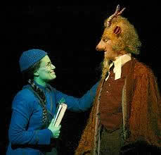 Elphaba and Glinda from the play Wicked