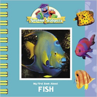 Book cover: My First Book About Fish