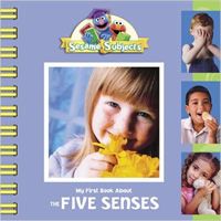 Book cover: My First Book About The Five Senses