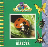 Book cover: My First Book About Insects