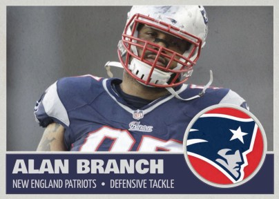 Patriots' Alan Branch