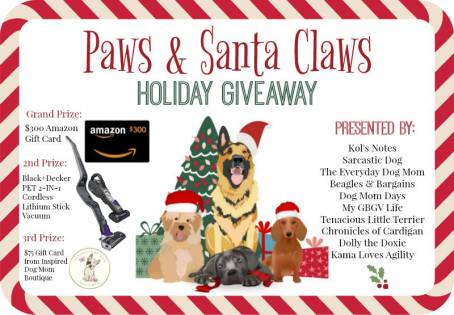 'Tis the Season to WIN BIG with the Paws & Claws Holiday Giveaway!