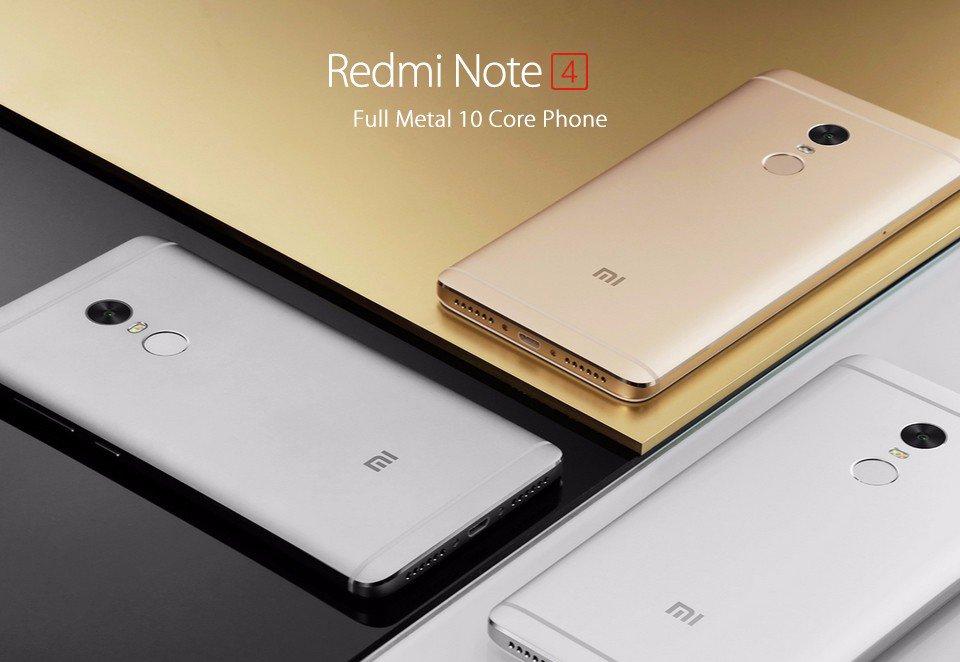 Xiaomi Hace Oficial El Redmi Note 4 Con Pantalla De 5 5 Y: Xiaomi Redmi Note 4