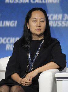 Fotografía de archivo del 2 de octubre de 2014, muestra a Meng Wanzhou, directora financiera de Huawei, mientras participa en el foro de inversión VTB Capital's 'RUSSIA CALLING' en Moscú (Rusia). La directora financiera del gigante electrónico chino Huawei, Wanzhou Meng, fue arrestada por las autoridades canadienses para ser extraditada a Estados Unidos por la supuesta violación de las sanciones impuestas por Washington contra Irán, anunció hoy el Gobierno de Canadá. EFE/MAXIM SHIPENKOV/ARCHIVO