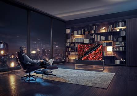 Imagen de la televisión LG/EFE