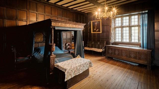 Kamar tidur klasik gaya eropa