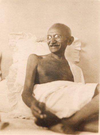 Smiling Gandhi