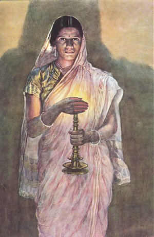 Painting by Haldankar
