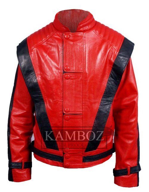 Micheal Jackson Thriller Red Jacket