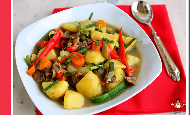Weekend Recipe Beef And Potato Soup