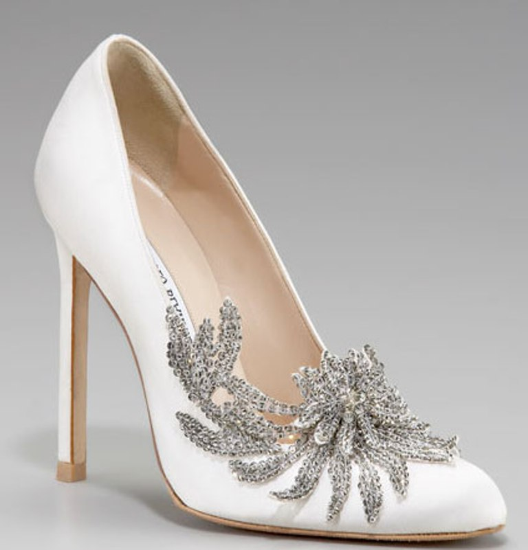 manolo blahnik wedding shoes 2013