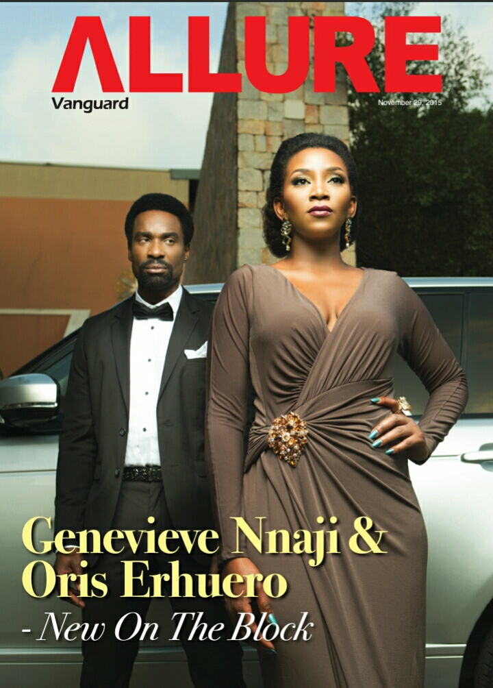Genevieve Nnaji Stuns On the Cover Of Vangaurd Allure Magazine