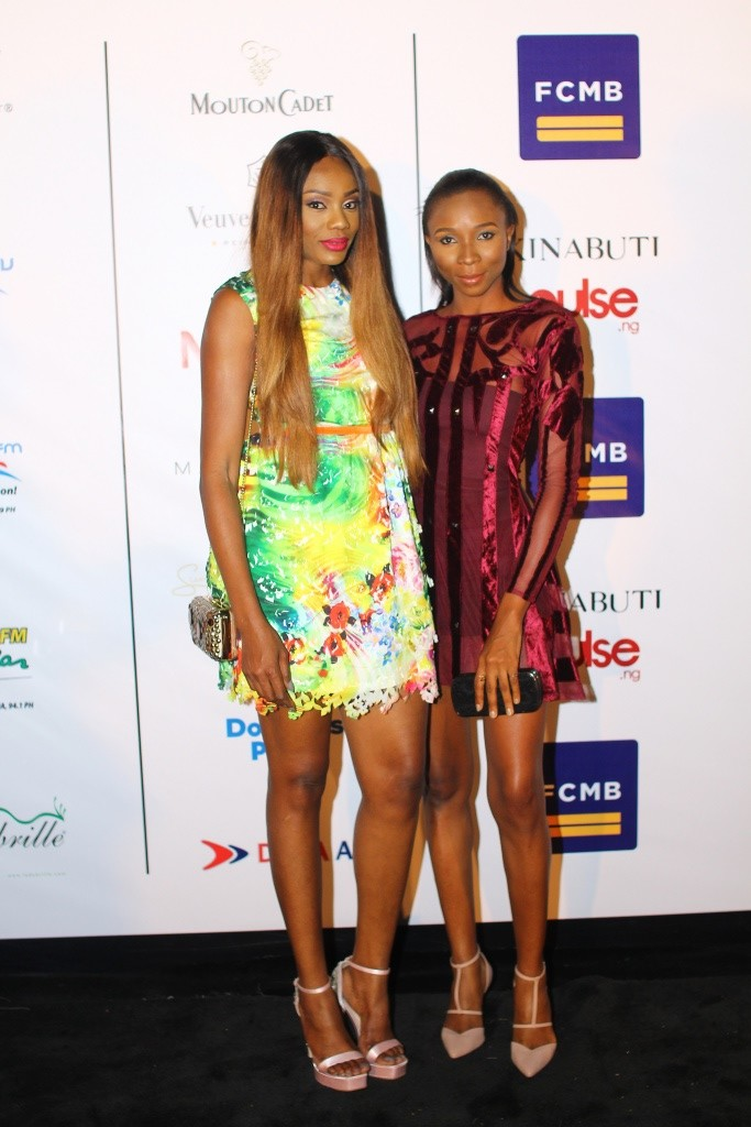 Ono bello and Bola (CEO few Model management) both trainers for dare2dream