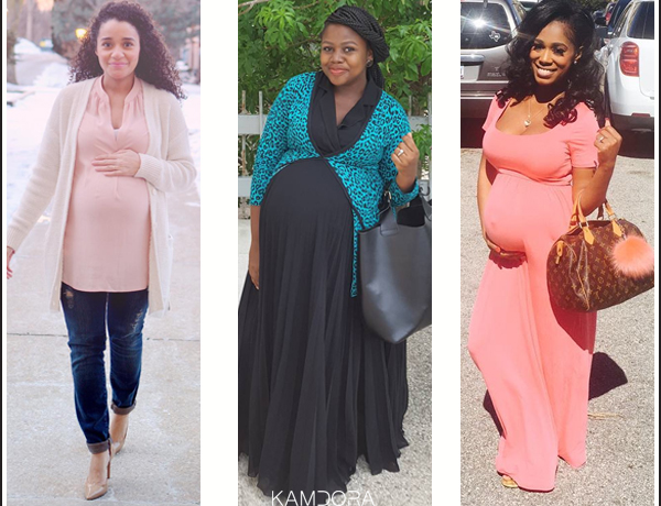 Pregnant And Chic Feeling good!