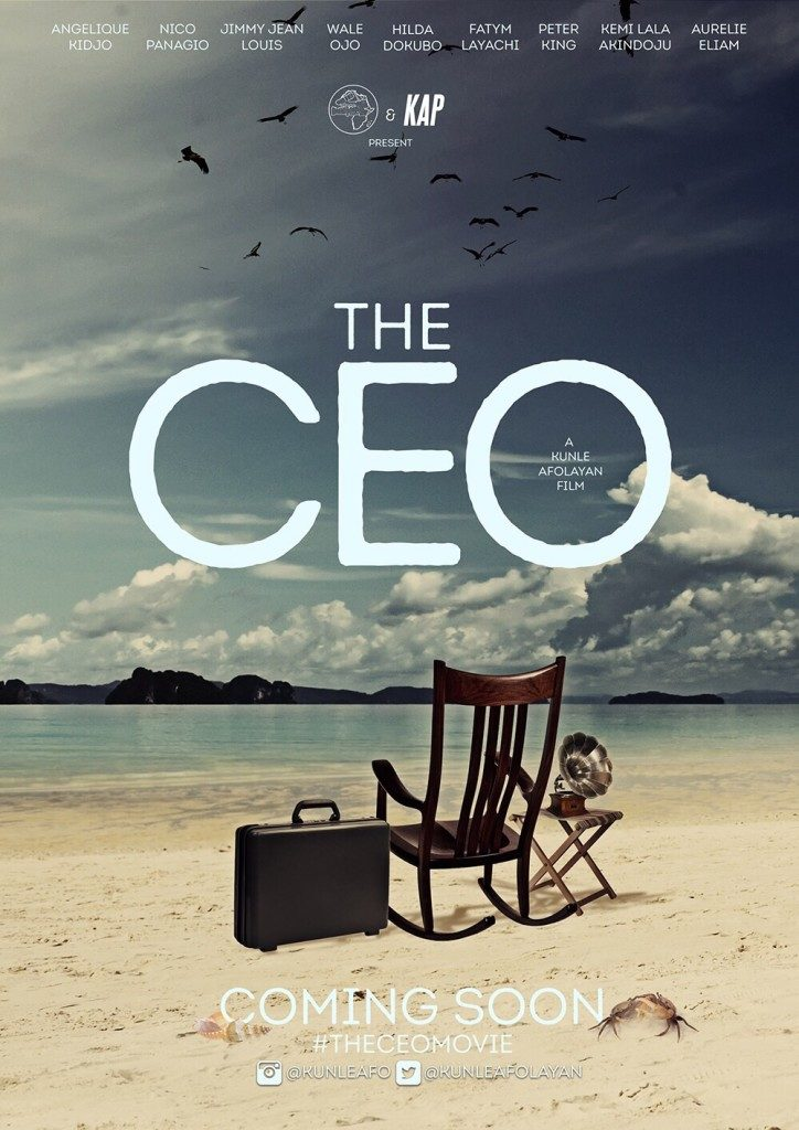 The CEO teaser poster