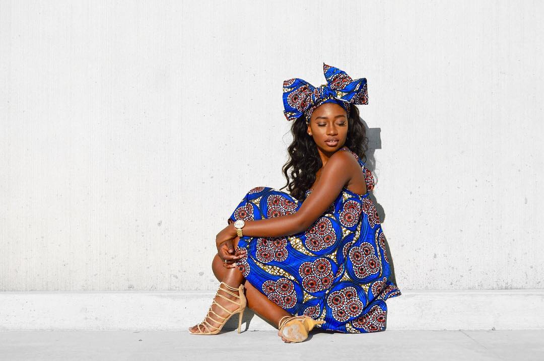 LOTD: Fashion Blogger Funke (From Funkillishh) Is A Life Size African Doll