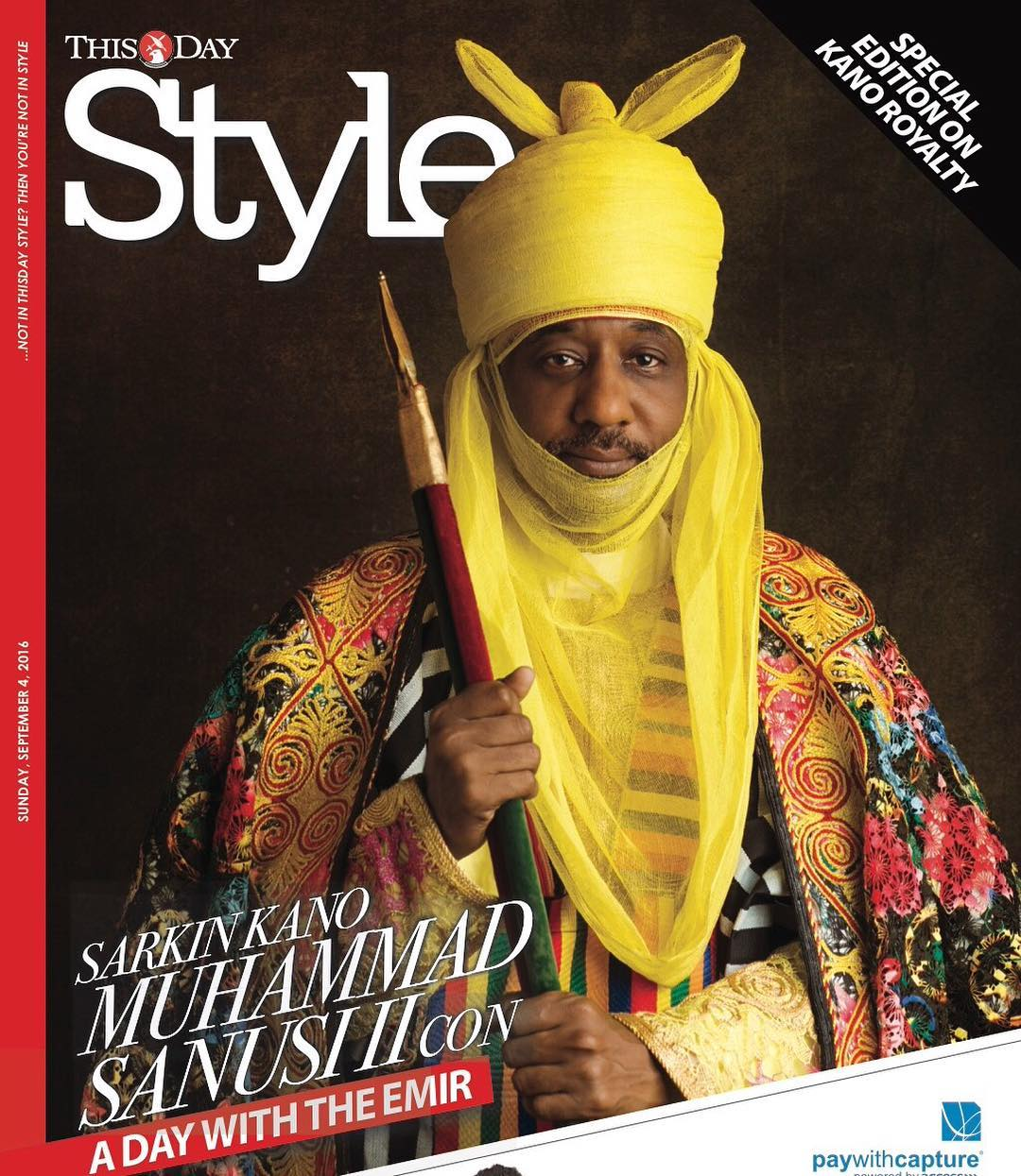 Emir of Kano Sanusi Lamido Sanusi for ThisDay Style Cover (1)
