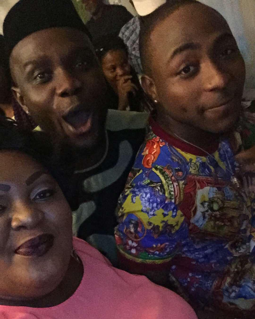 Eniola Badmus at Davido's birthday