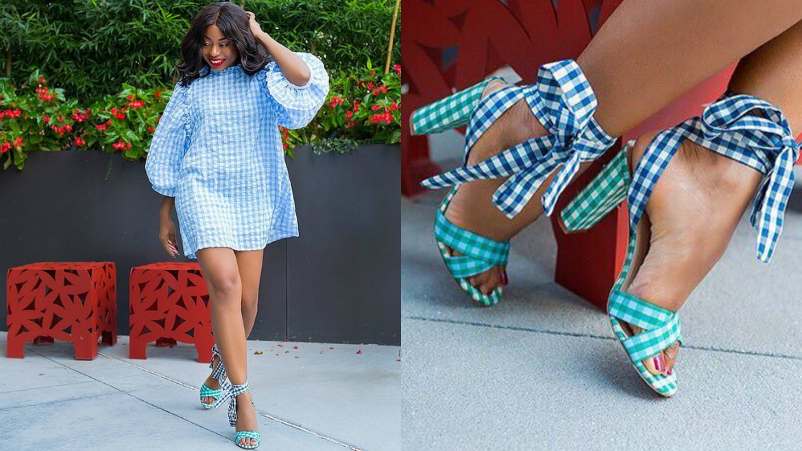 LOTD: Stella-Uzo (From Jadorefashion) Slaying In Gingham