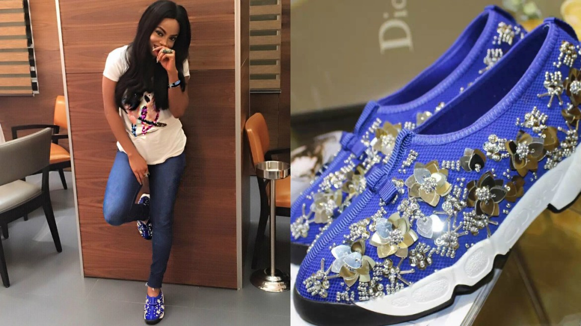 3 Ways to Style Your Dior Fusion Sneakers like Toke Makinwa