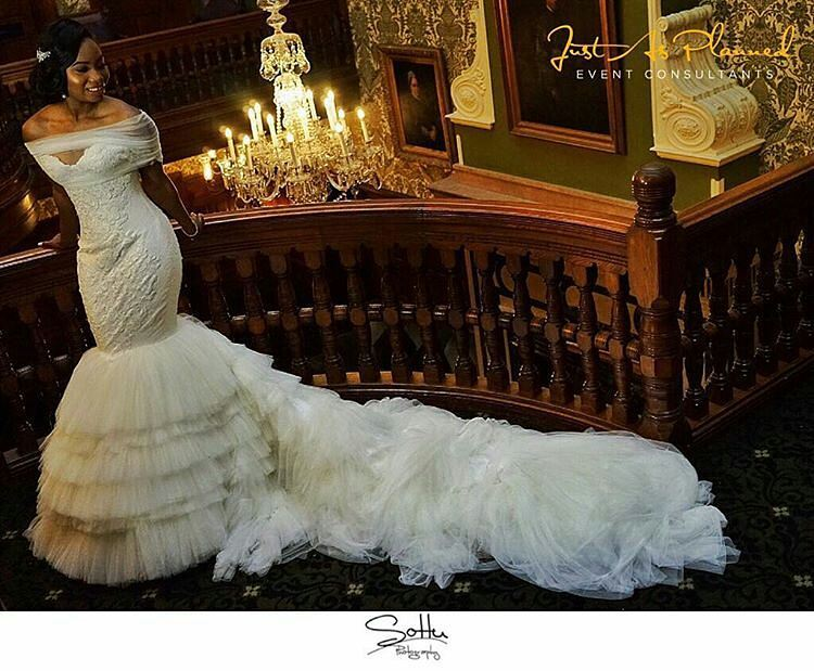 Fairytale Inspired Wedding Dresses From London Based Nigerian