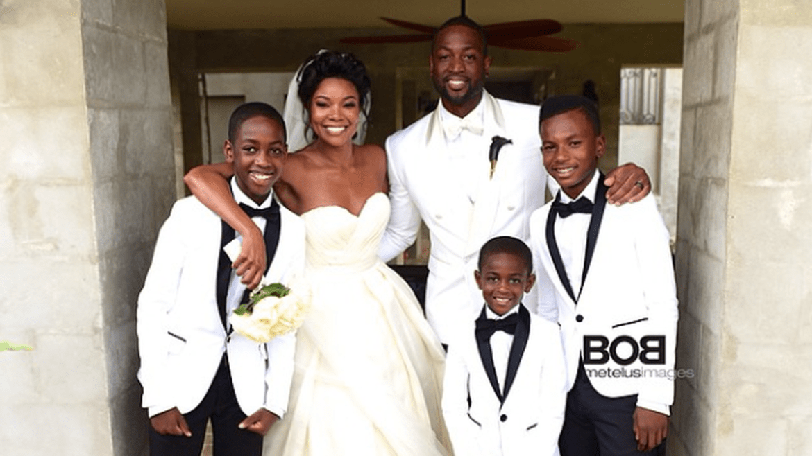 Perfectly Blended Family - Gabrielle Union, Dwayne Wade & Three Sons