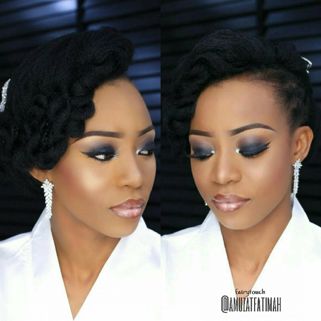 6 Classy Natural Hairstyles For Nigerian Brides Kamdora