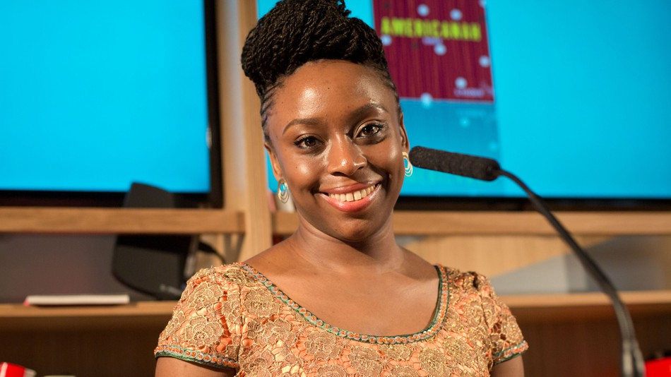 Chimamanda Ngozi Adichie Natural Hair 10