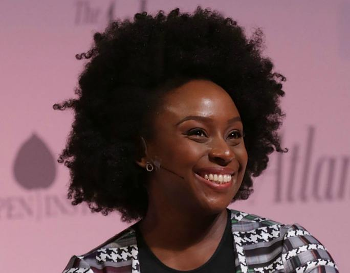Chimamanda Ngozi Adichie Natural Hair 13