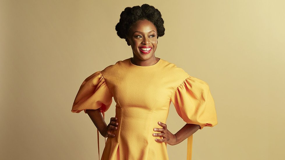 Chimamanda Ngozi Adichie Natural Hair 15