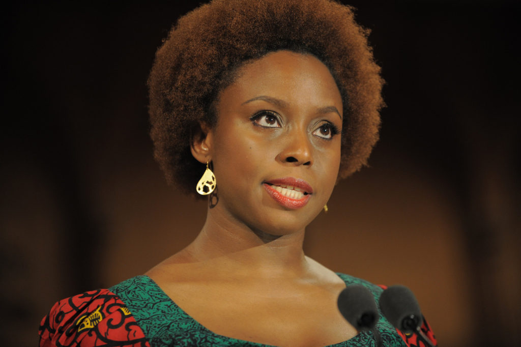 Chimamanda Ngozi Adichie Natural Hair 6