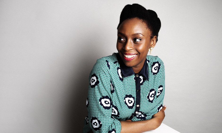 Chimamanda Ngozi Adichie Natural Hair 8