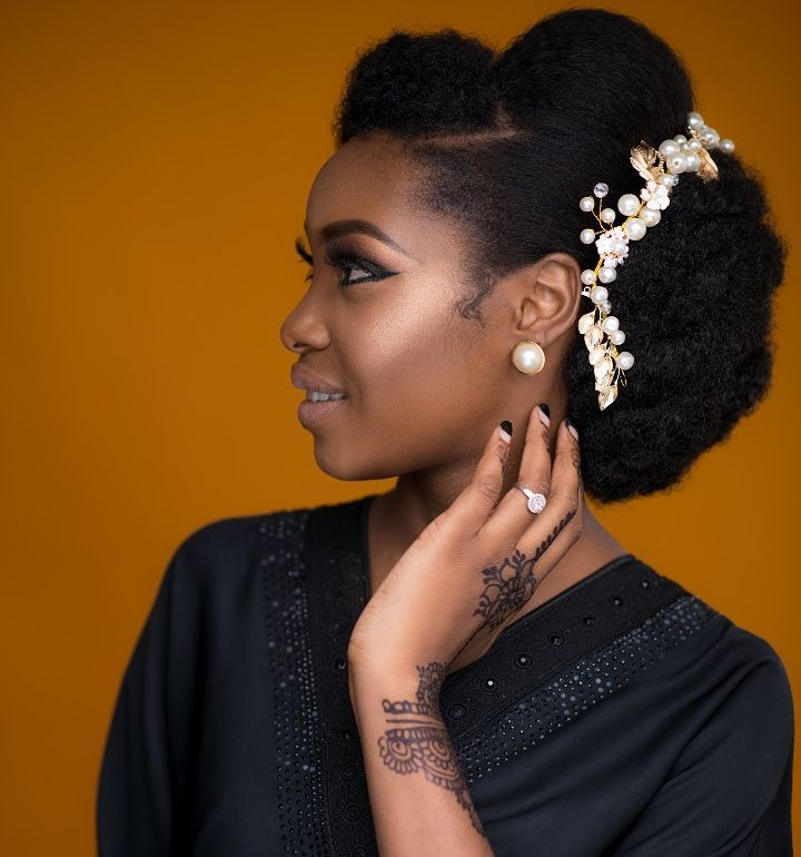 Rock Your Natural Hair Like These Ones On Your Wedding Day