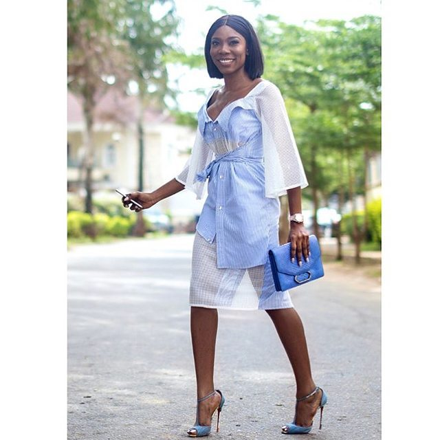 How to wear colour blue on kamdora (1)