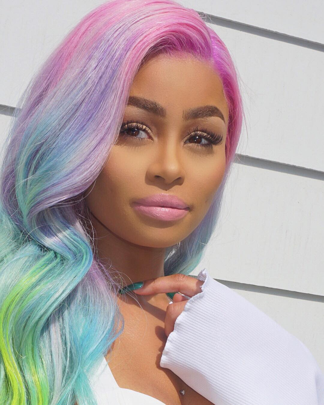 Want To Experiment With Your Hair Let Blac Chyna Inspire You Kamdora