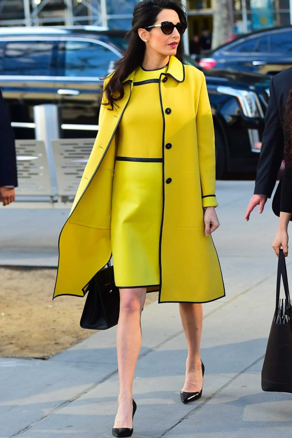Amal Clooney does work style perfectly 4