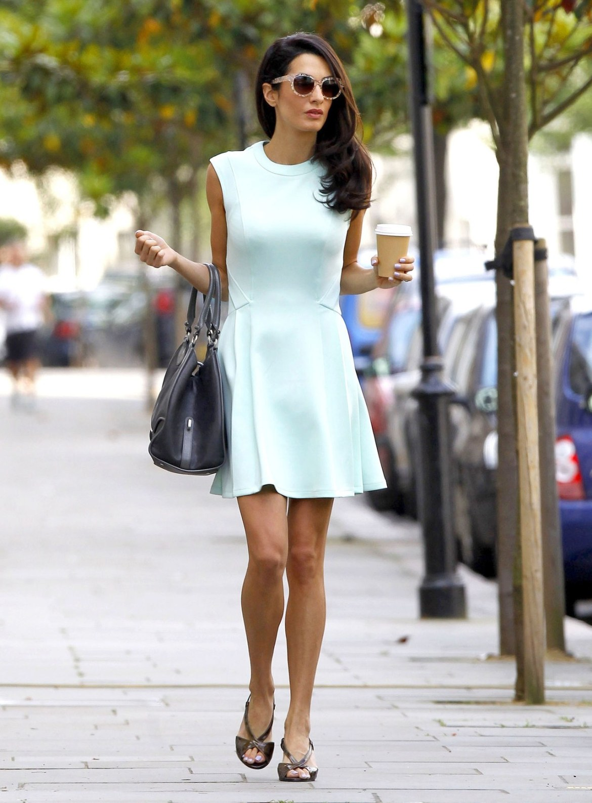 Amal Clooney does work style perfectly 5