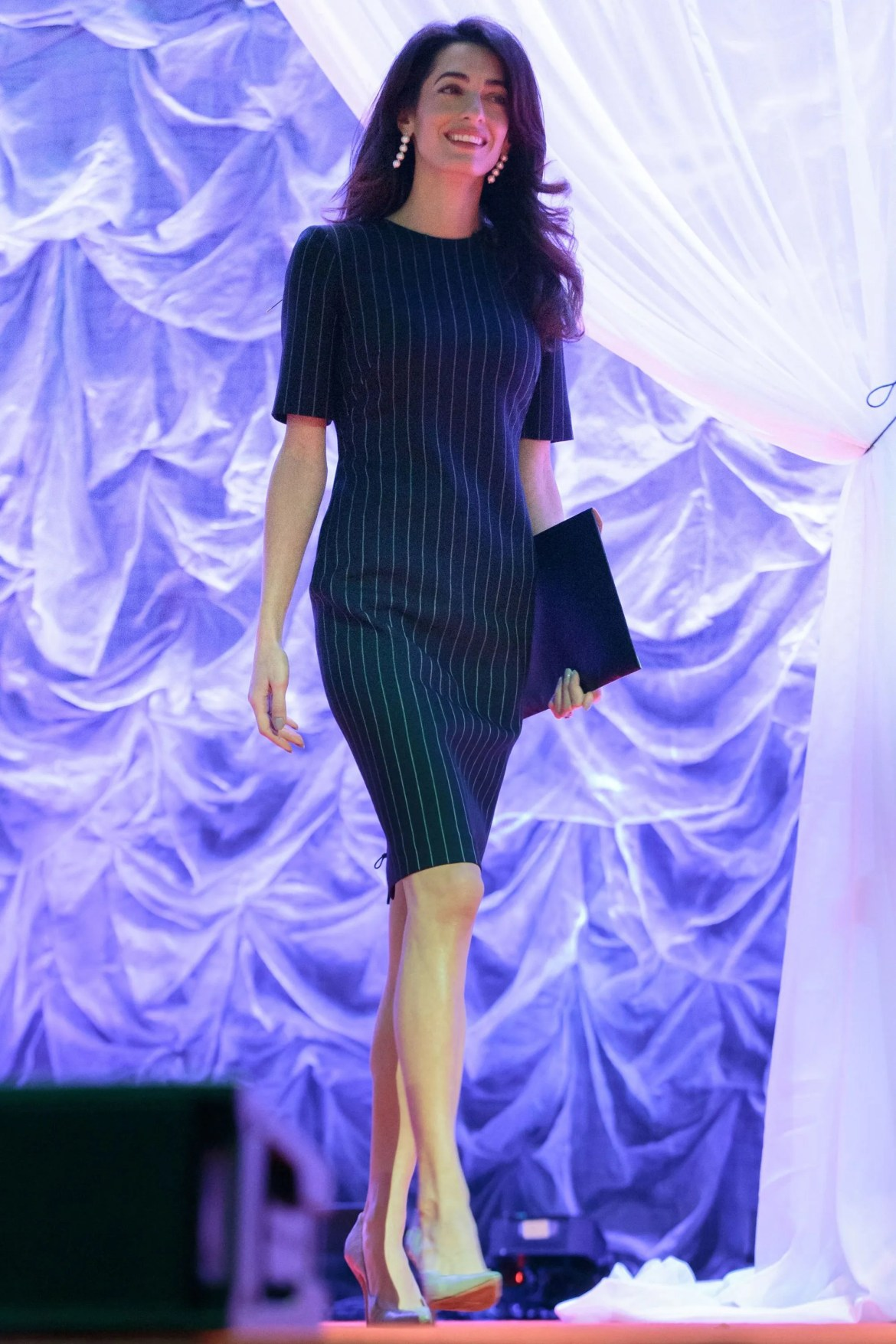 Amal Clooney does work style perfectly 6