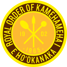Chapter 1 Seal, Royal Order of Kamehameha I