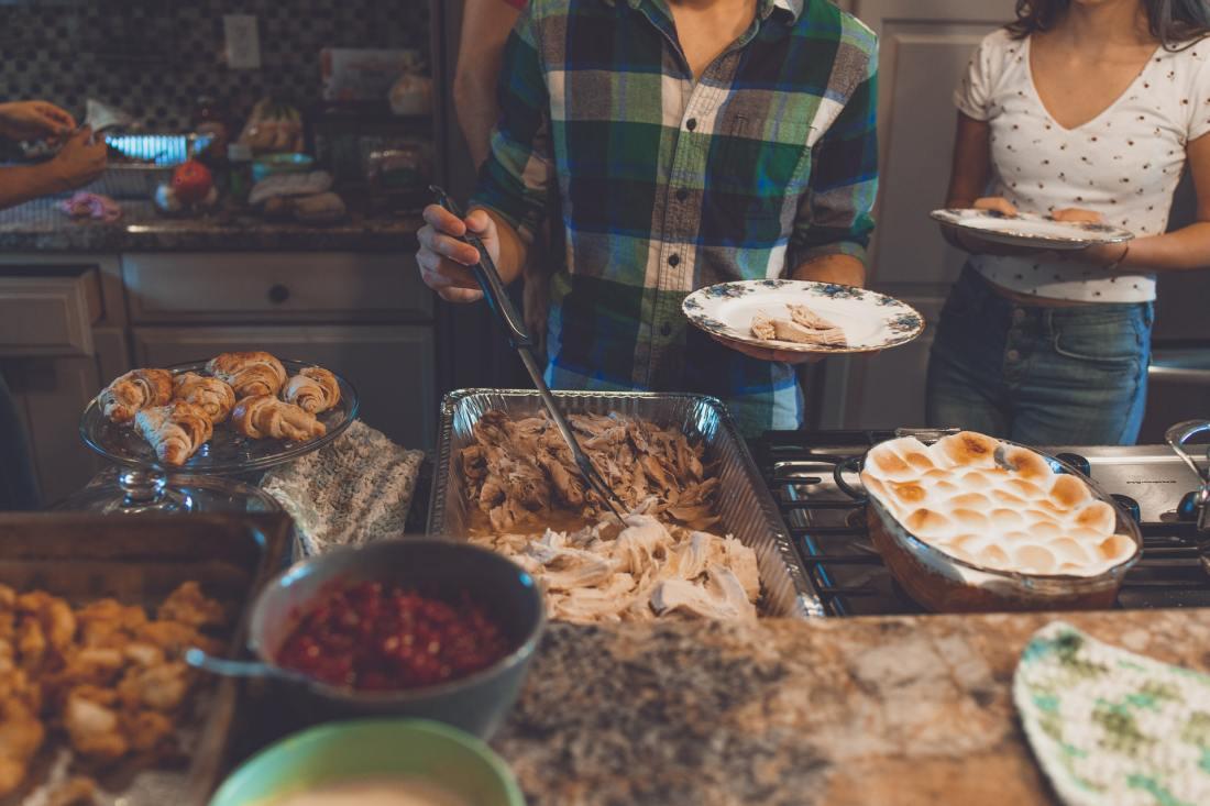 kerstdiner buffet