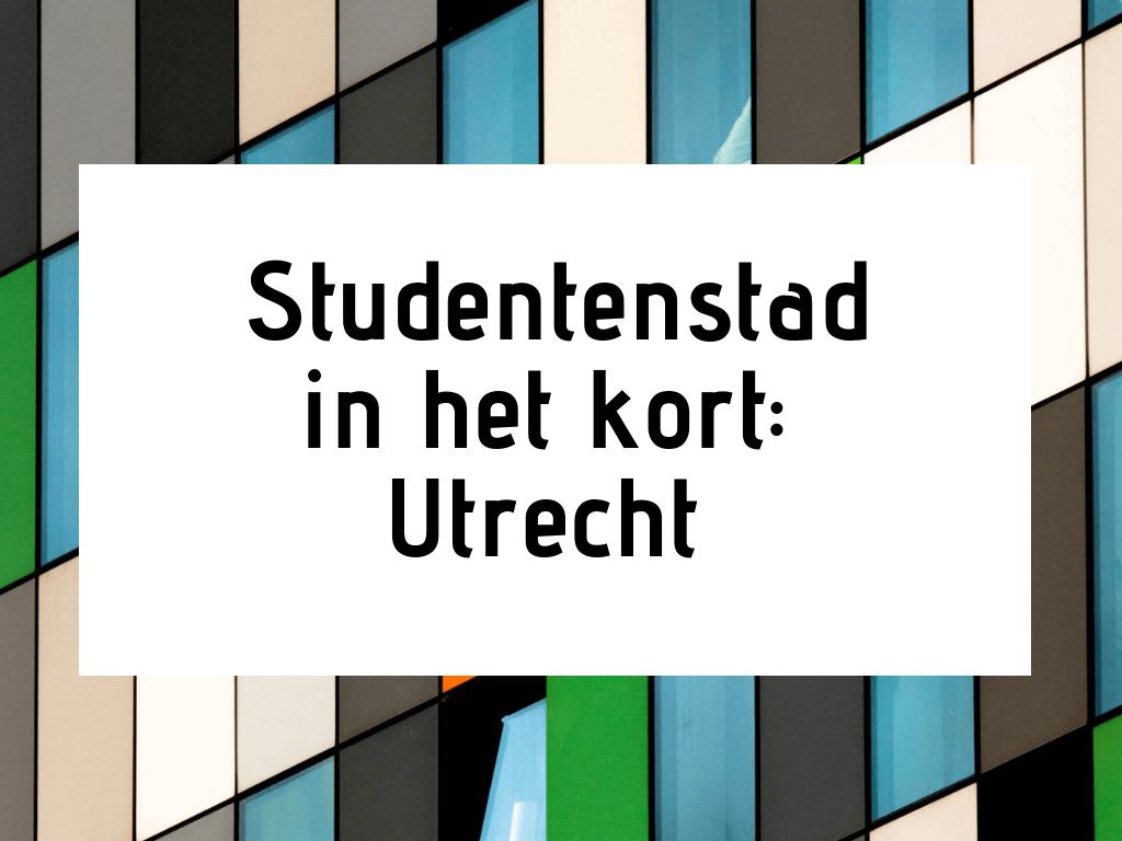 studentenstad utrecht
