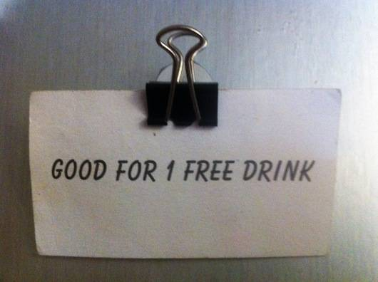 papierklem koelkastmagneet