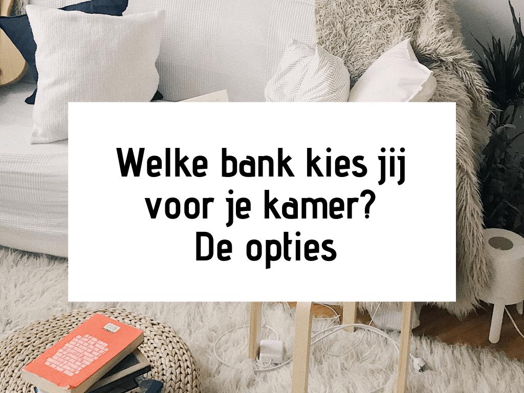 Hoekbank Slaapbank Te Koop.Welke Bank Kies Jij Voor Je Kamer De Opties Kamer Nl