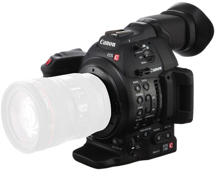 Canon EOS C100 mark II body canon eos t6 body only Canon EOS T6 Body Only 122054635 1