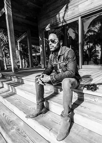 LEICA-FOTOGRAF: Artist og designer Lenny Kravitz. (Foto: Leica)