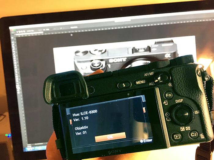 KVELDSØKT: En fastvare-oppdatering er vellykket gjennomført. (Foto: Toralv Østvang)