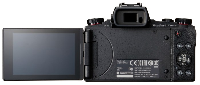 Canon G1 X Mark III