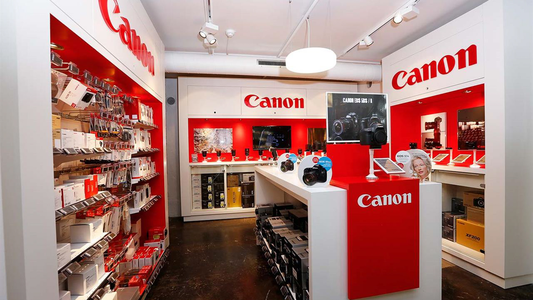 Canon-dager hos Interfoto
