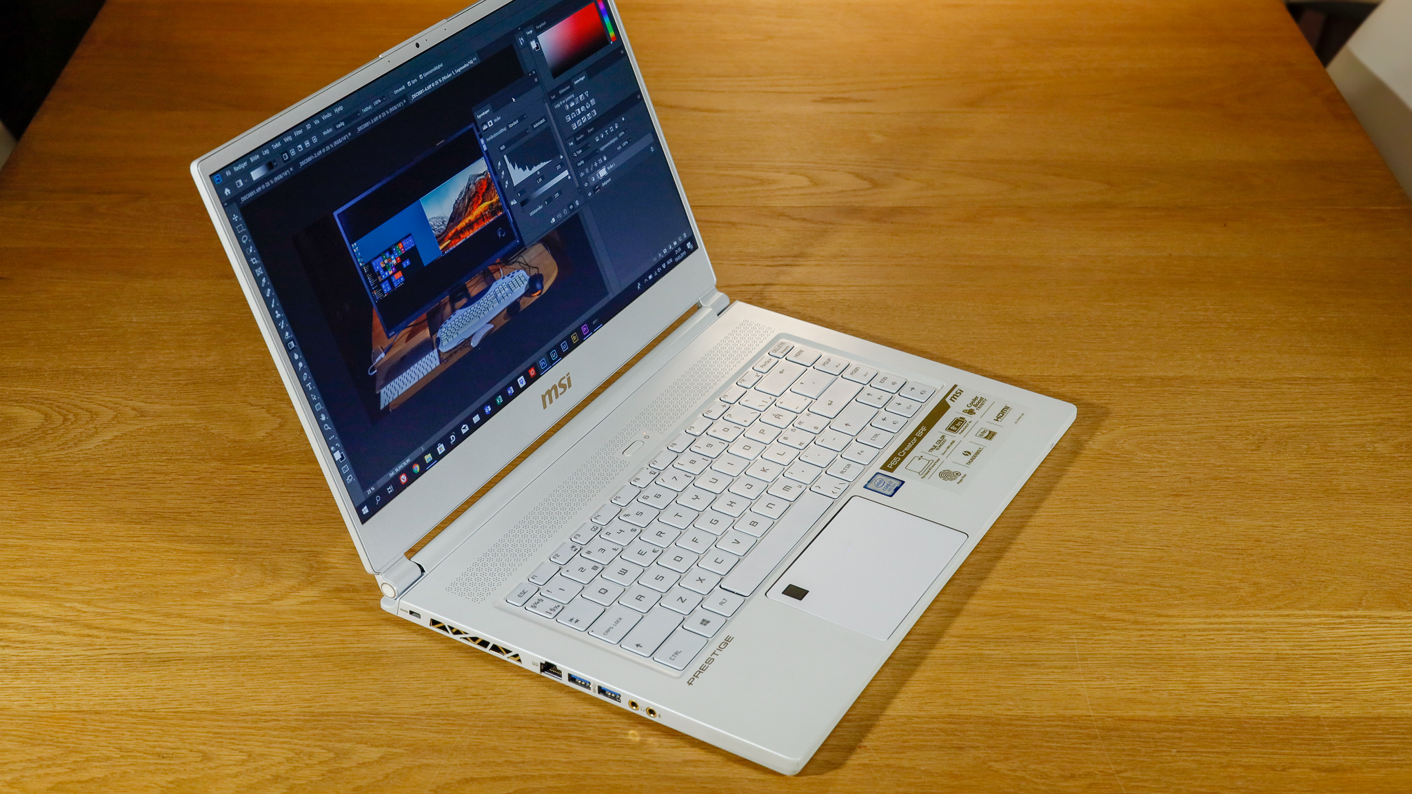 MSI P65 Creator Limited Edition.