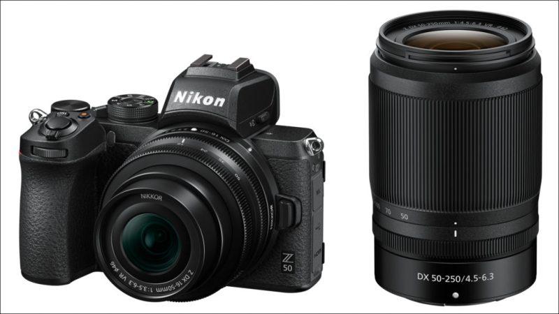 Nikon Z 50 16-50 mm + 50-250 mm